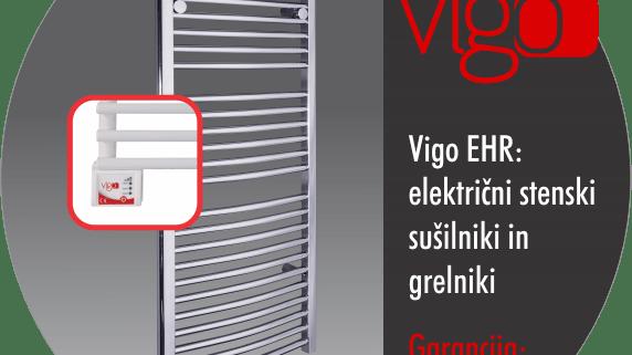 Električni stenski grelnik in sušilnik - Vigo EHR